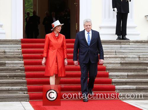 President Joachim Gauck and Daniela Schadt 2
