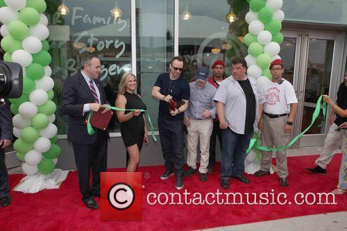 Mark Treyger, Donnie Wahlberg, Paul Wahlberg, John Cestare and Franchise Owner 3