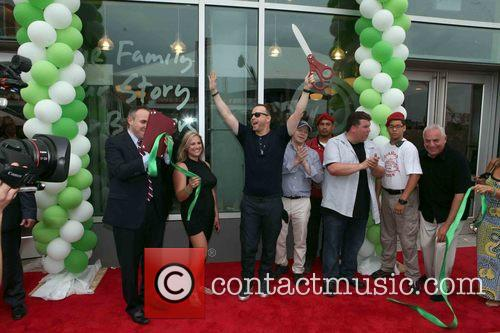 Mark Treyger, Donnie Wahlberg, Paul Wahlberg, John Cestare and Franchise Owner 1