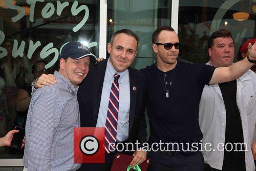 Paul Wahlberg, Mark Treyger and Donnie Wahlberg 5