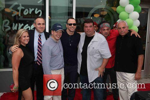 Mark Treyger, Paul Wahlberg, Donnie Wahlberg and John Cestare 6