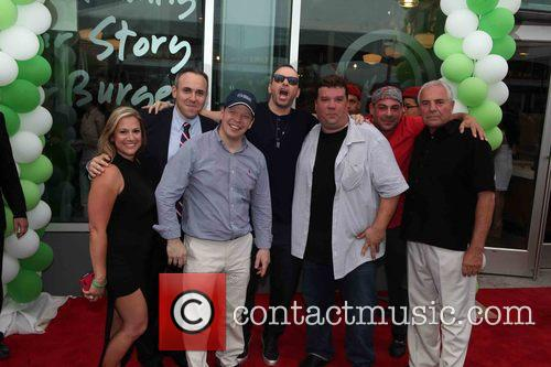 Mark Treyger, Paul Wahlberg, Donnie Wahlberg and John Cestare 7