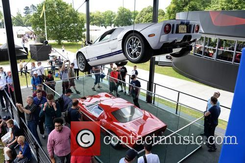 A Suspended Ford Gt 4