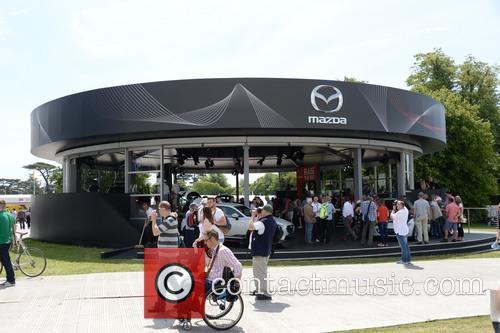 The Mazda Display 7