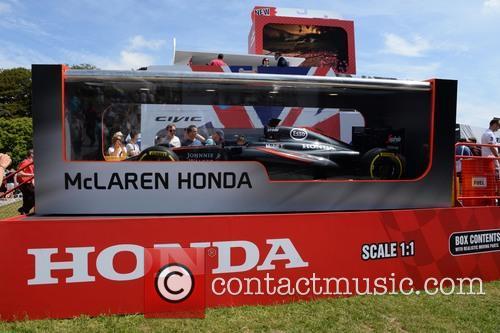 Honda Display With A Real F1 Car 11