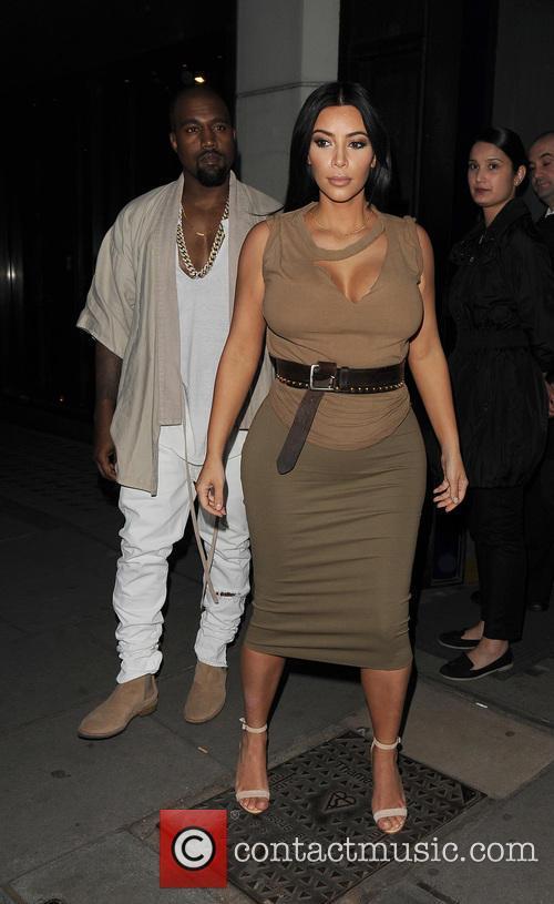 Kim Kardashian and Kanye West 11