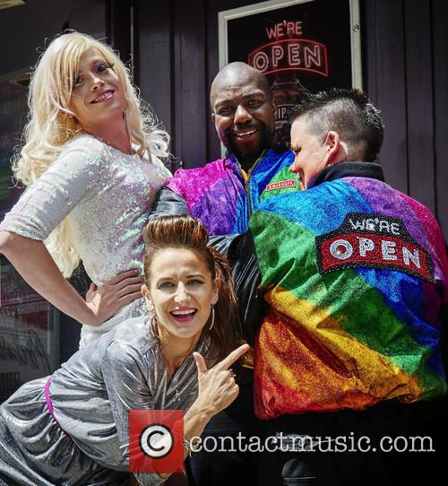 The new Smirnoff LGBT Jacket makes its debut...