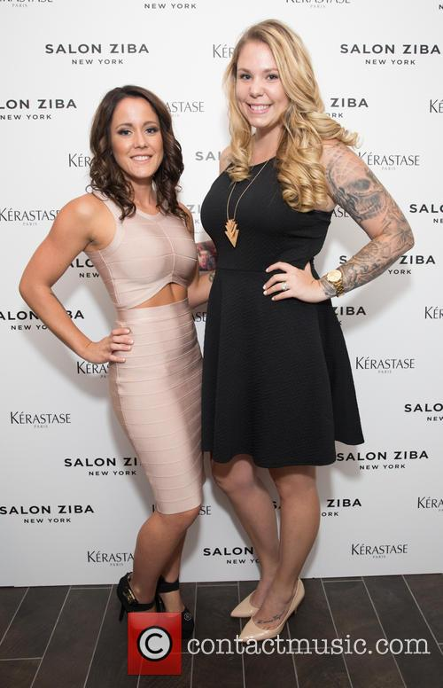 Jenelle Evans and Kailyn Lowry 3