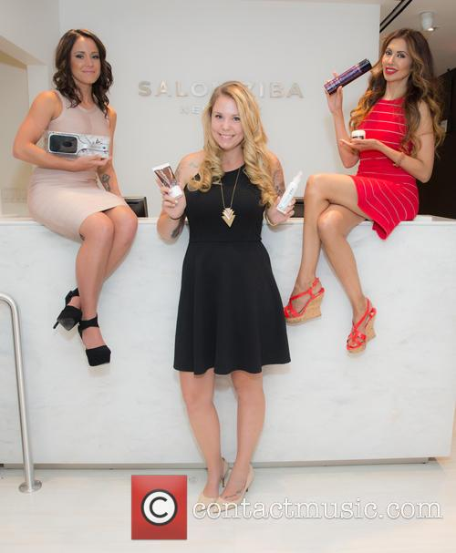 Jenelle Evans, Kailyn Lowry and Dr.tabasum Mir 8