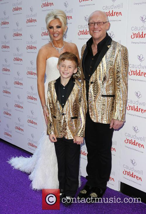 Claire Caudwell, John Caudwell and Jacobi Caudwell 1