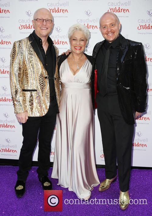John Caudwell, Denise Welch and Lincoln Townley 2