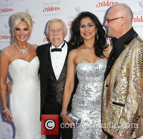 Claire Caudwell, Bruce Forsyth, Wilnelia Merced and John Caudwell 3