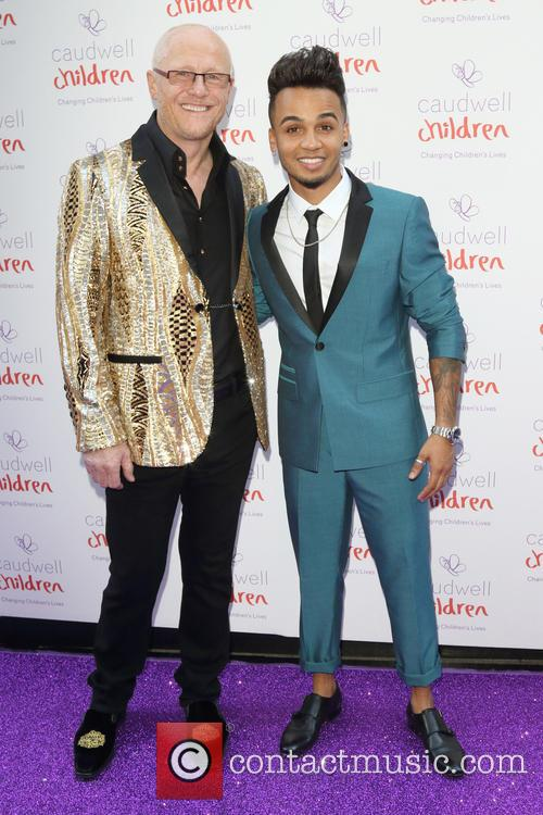 John Caudwell and Aston Merrygold