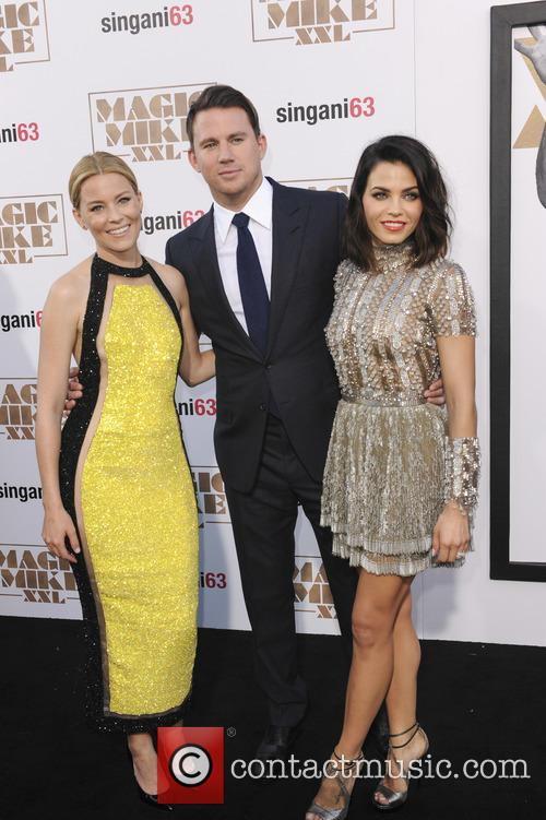 Elizabeth Banks, Channing Tatum and Jenna Dewan Tatum 6