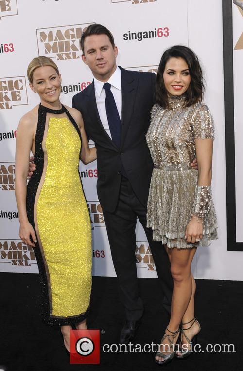Elizabeth Banks, Channing Tatum and Jenna Dewan Tatum 7