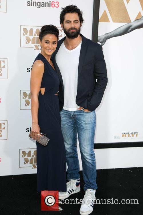 Emmanuelle Chriqui and Adrian Bellani 6