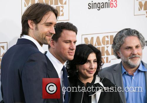 Reid Carolin, Channing Tatum, Sue Kroll and Gregory Jacobs 7
