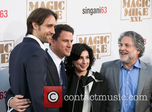 Reid Carolin, Channing Tatum, Sue Kroll and Gregory Jacobs 8
