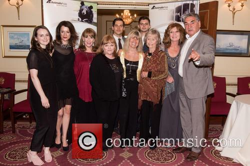 Jim Carter, Phyllis Logan, Rob James-collier, Raquel Cassidy, Sophie Mcshera, Michael Fox, Peter Egan and lesley Nicol 2