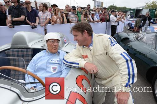 Sir Stirling Moss and James Martin 4
