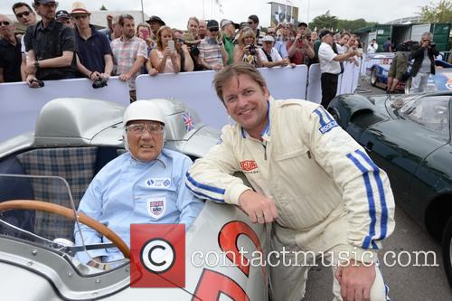 Sir Stirling Moss and James Martin 5