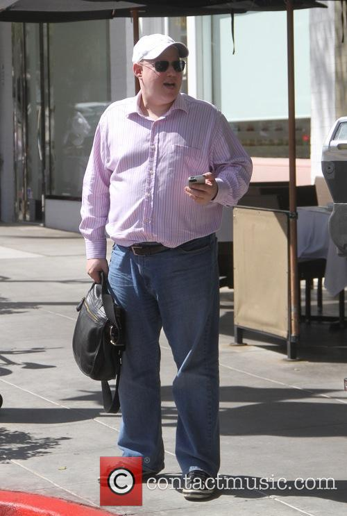 Matt Lucas spotted out to lunch in Beverly...