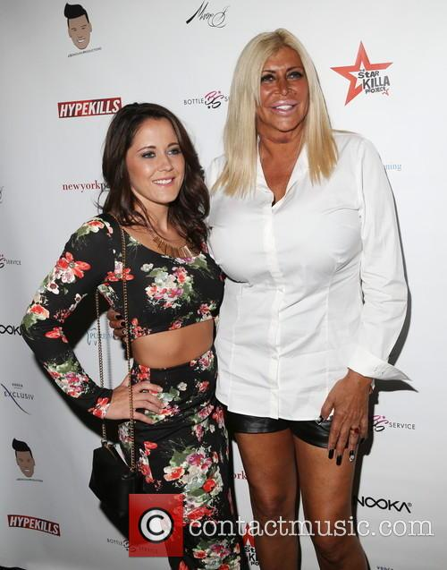 Jenelle Evans and Big Ang 3