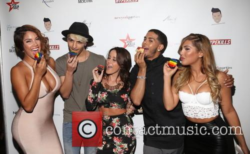 "Raquel ""rocky"" Santiago, Briah Bettencourt, Jenelle Evans, Justin Molina and Gig Lopez 2"