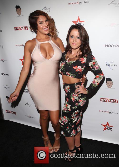 """Raquel """"rocky"""" Santiago and Jenelle Evans 4"""