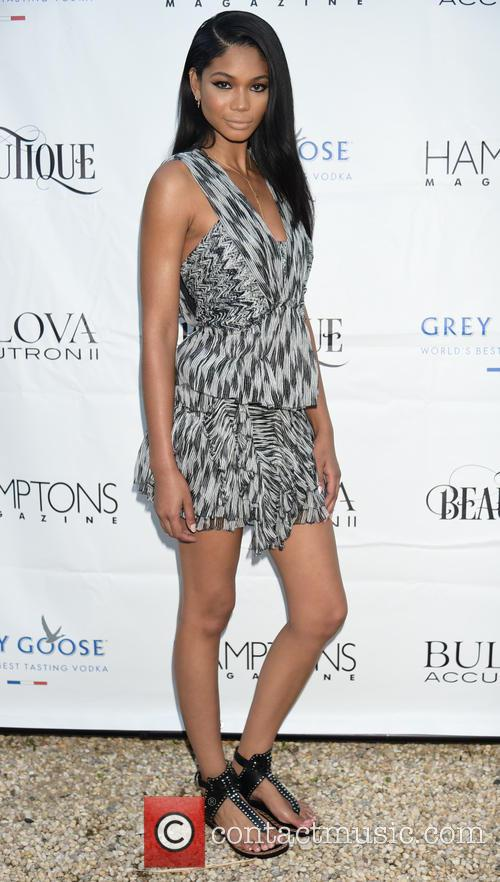 Chanel Iman celebrates her Hamptons magazine cover