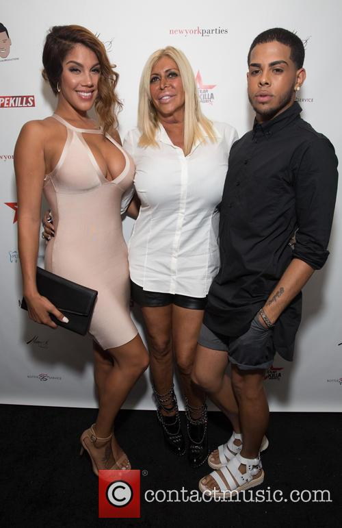Raquel Santiago, Big Ang and Justin Molina 2