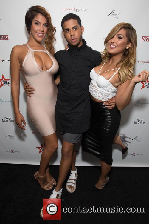 Raquel Santiago, Justin Molina and 'gigi Lopez 9