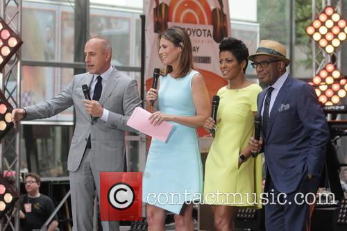 Savannah Guthrie, Tamron Hall, Al Roker and Matt Lauer 2
