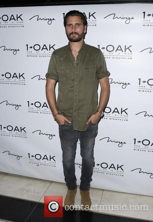 Scott Disick Hosts at 1 OAK Nightclub