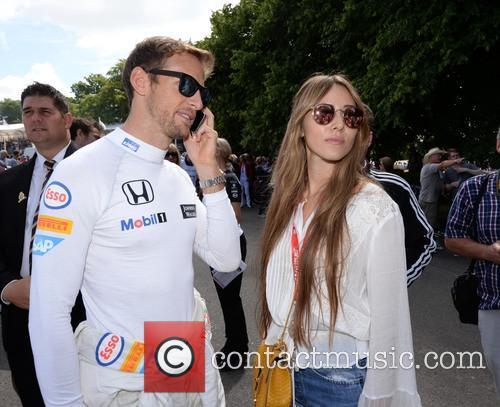 Jenson Button and Jessica Michibata 3