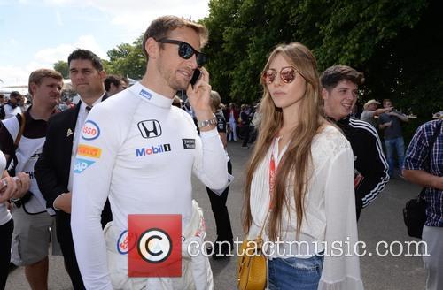 Jenson Button and Jessica Michibata 4