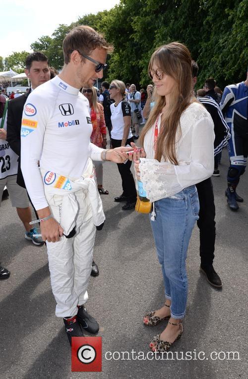 Jenson Button and Jessica Michibata 5
