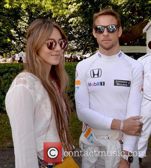 Jenson Button and Jessica Michibata 6