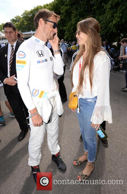Jenson Button and Jessica Michibata 9