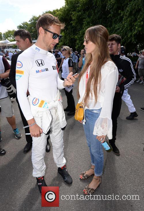 Jenson Button and Jessica Michibata 11