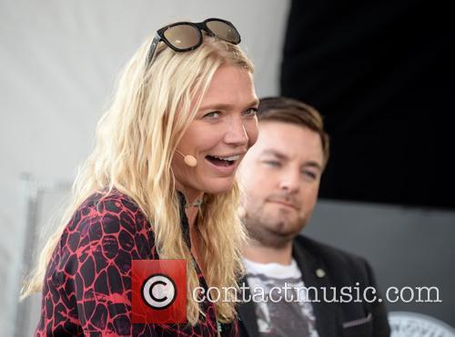 Jodie Kidd and Alex Brooker 6