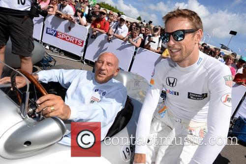 Sir Stirling Moss and Jenson Button 3