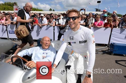 Sir Stirling Moss and Jenson Button 4