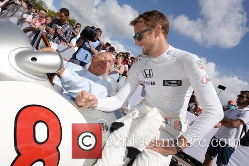 Sir Stirling Moss and Jenson Button 5