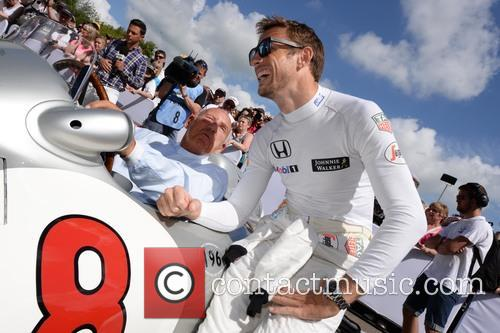 Sir Stirling Moss and Jenson Button 6