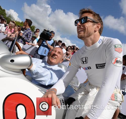 Sir Stirling Moss and Jenson Button 9