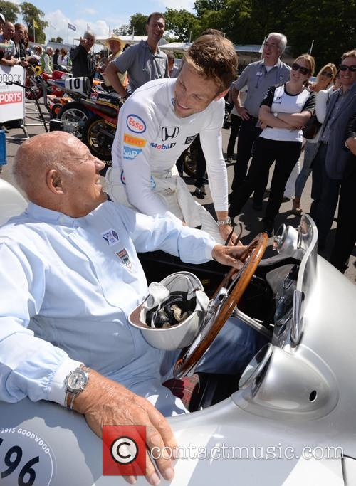 Sir Stirling Moss and Jenson Button 10