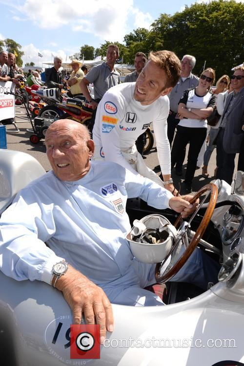 Sir Stirling Moss and Jenson Button 11