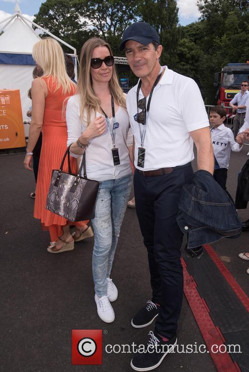 Antonio Banderas and Nicole Kimpel 4