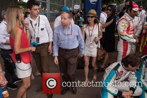 Michelle Yeo and Jean Todt 4